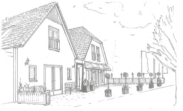 4 appartementen, restaurant en cafetaria | Elburg